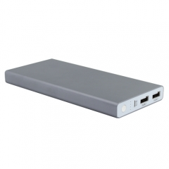 Super high capacity 15000mah power bank with dual usb output ports