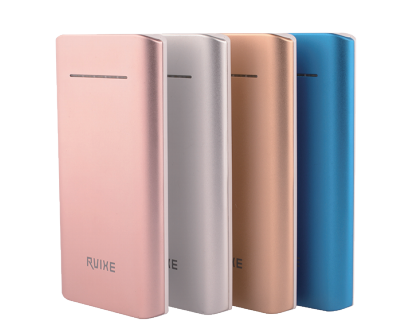 Ultra thin metal +ABS power bank 10000mah