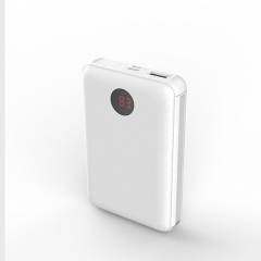 mini power bank 10000mAh with built in cable for all cellphone