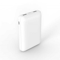super mini power bank 10000mah with 2 way input and 2 way output